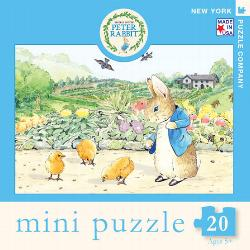Easter Chicks (Mini) (Peter Rabbit) Movies / Books / TV Miniature Puzzle