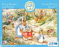 Peter Rabbit and Family (Peter Rabbit) Nostalgic / Retro Children's Puzzles