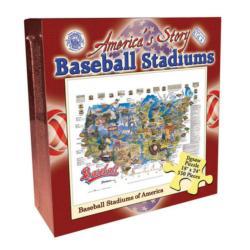 Baseball Stadiums of America (America's Story) Baseball Jigsaw Puzzle
