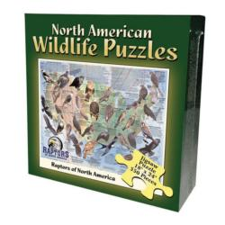 Raptors (North American Wildlife Jigsaw Puzzle) Wildlife Jigsaw Puzzle