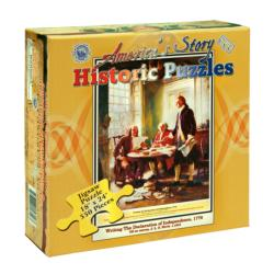 Writing the Declaration of Independence United States Jigsaw Puzzle