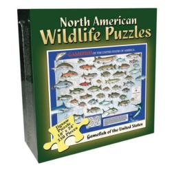 Gamefish (North American Wildlife Jigsaw Puzzle) - Scratch and Dent Fish Jigsaw Puzzle