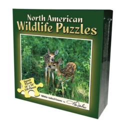 Fawn (North American Wildlife Jigsaw Puzzle) Photography Jigsaw Puzzle
