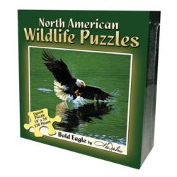 Bald Eagle (North American Wildlife Jigsaw Puzzle) Wildlife Jigsaw Puzzle