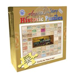 Civil War Ticket to Ride (America's Story) Trains Jigsaw Puzzle