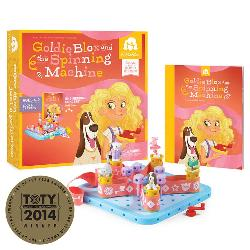 GoldieBlox and the Spinning Machine Dogs Activity Books and Stickers