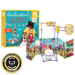 GoldieBlox and the Dunk Tank Carnival Toy