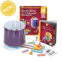 GoldieBlox and the Movie Machine Toy
