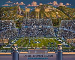 BYU Football Sports Jigsaw Puzzle