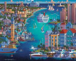 Bahamas Travel Jigsaw Puzzle