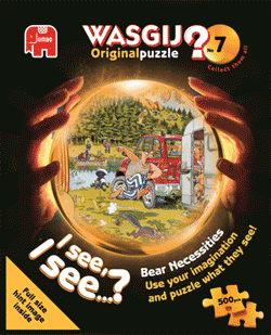 Wasgij Original #7 - Bear Necessities - 500 Wasgij Jigsaw Puzzle