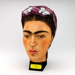 Frida Kahlo (Paper Model) New Famous People Jigsaw Puzzle