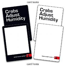 Crabs Adjust Humidity - Blank Deck