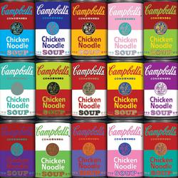 Campbell's Souper Hard (World's Most Difficult) Graphics / Illustration Jigsaw Puzzle
