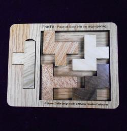 Five Fit Puzzle - Small Brain Teaser