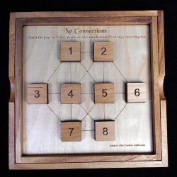 No Connections Puzzle - Large Brain Teaser