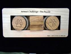 Animal Challenge - Pet Puzzle Brain Teaser