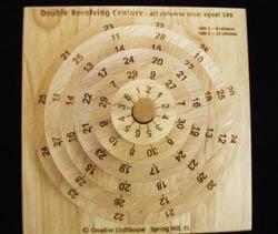 Revolving Double Century Math Puzzle Brain Teaser