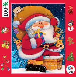 Santa (Mini) Christmas Children's Puzzles