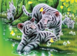 Tiger Cubs (Furry Friends) Tigers Jigsaw Puzzle