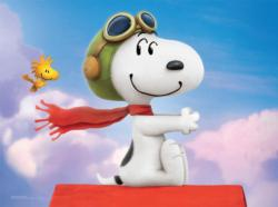 Flying Ace (The Peanuts Movie) Birds Children's Puzzles