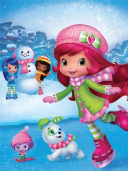 Strawberry Shortcake Ice Skating Movies / Books / TV Children's Puzzles