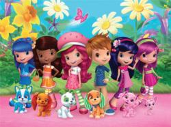 Strawberry Shortcake Friends and Pets Movies / Books / TV Children's Puzzles