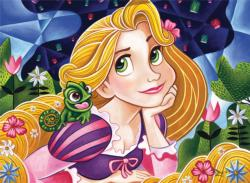 Flowers in Her Hair (Disney Friends) Movies / Books / TV Children's Puzzles