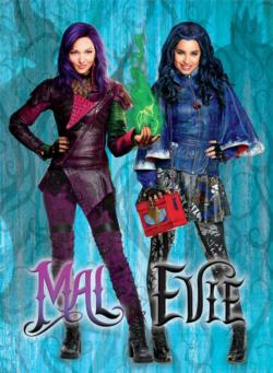 Mal & Evie (Disney Descendants) Movies / Books / TV Large Piece