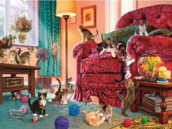 Naughty Kittens (Paws Gone Wild) Kittens Jigsaw Puzzle