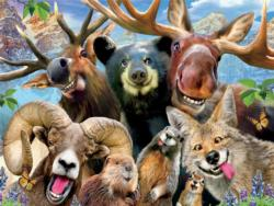 Rocky Mountain (Selfies) Other Animals Jigsaw Puzzle