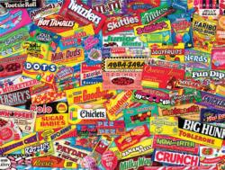 Candy (Logo Collages) Sweets Jigsaw Puzzle