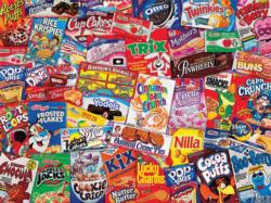 Massive Munchies (Logo Collages) Food and Drink Jigsaw Puzzle