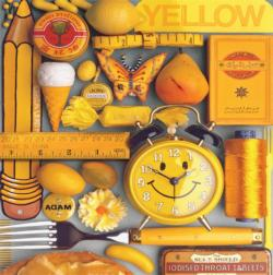 Yellow Monochromatic Jigsaw Puzzle
