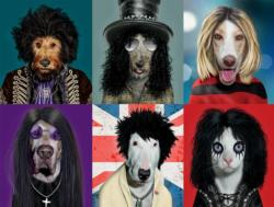 Rock Stars (Pets Rock) Dogs Jigsaw Puzzle