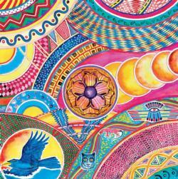 Interconnection Mandala Jigsaw Puzzle