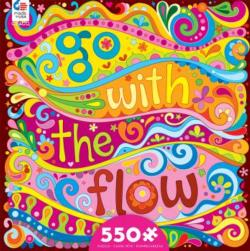 Go With the Flow Graphics / Illustration Jigsaw Puzzle
