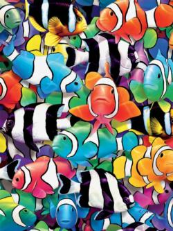 Clown Fish (Colors) Fish Jigsaw Puzzle