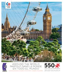 London, England (Around the World) Photography Jigsaw Puzzle