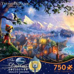 Disney Dreams - Pinocchio Wishes Upon a Star Movies/Books/TV Jigsaw Puzzle