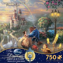 Beauty and the Beast Falling in Love (Disney Dreams) Movies / Books / TV Jigsaw Puzzle