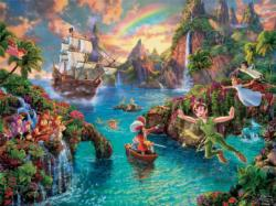 Peter Pan, 750 Piece Thomas Kinkade Disney Dreams Movies / Books / TV Jigsaw Puzzle