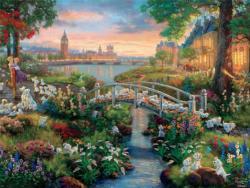 101 Dalmations (Thomas Kinkade Disney) Disney Jigsaw Puzzle