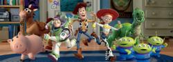 Toy Story Movies / Books / TV Panoramic Puzzle