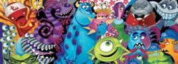 Monsters, 700 Piece Disney Panoramic Puzzle Movies / Books / TV Panoramic Puzzle