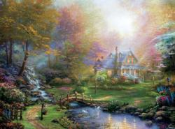 A Mother's Perfect Day (Thomas Kinkade 1000 Piece) Sunrise/Sunset Jigsaw Puzzle