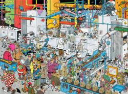 Candy Factory (Crowd Pleasers) Cartoons Jigsaw Puzzle