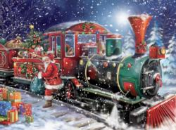 All Aboard (Classic Christmas) Snow Jigsaw Puzzle