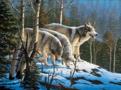 Wildlife (Wolves) Forest Jigsaw Puzzle