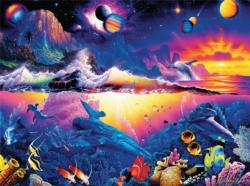 Galaxy of Life (Christian Riese Lassen) Mountains Jigsaw Puzzle